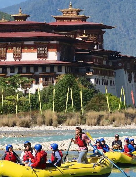 Bhutan rafting and kayaking Trekking